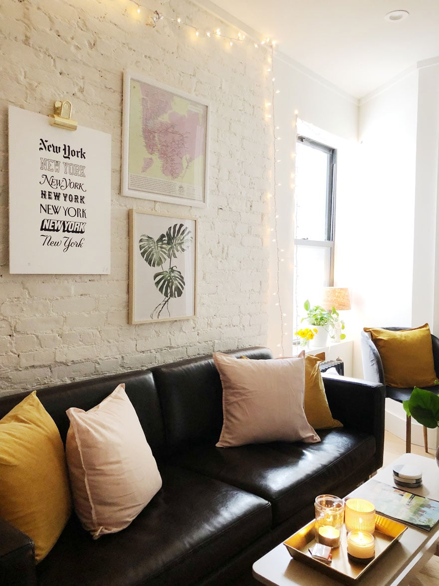 Making the most of a small space + NYC apartment | Most Lovely Things