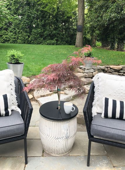 We have summer on our minds…planning our outdoor spaces