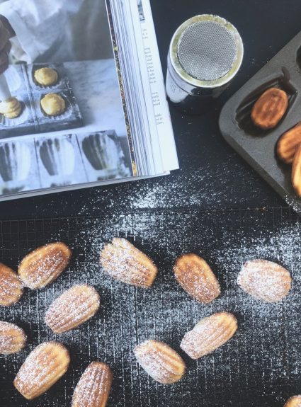 Making Madeleines from the New Cookbook: The Cook's Atelier