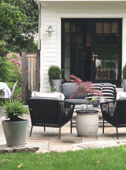 DIY Planter Drink Table + Target Outdoor Sale