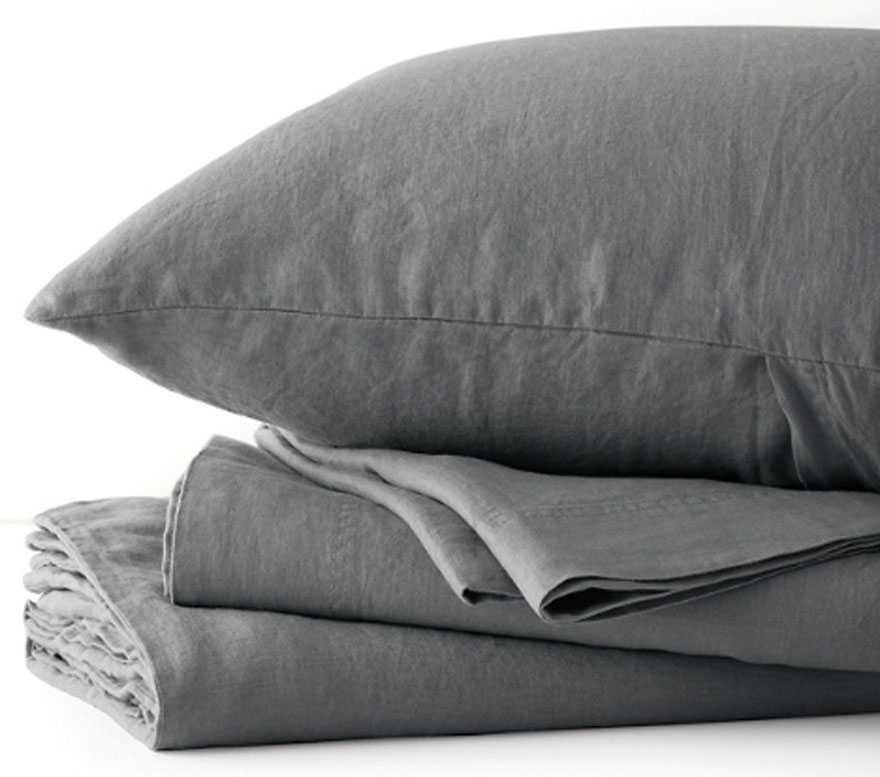pillow, sheets