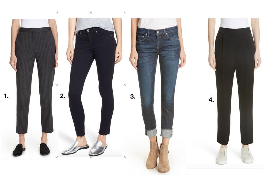 jeans on models