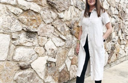 I participated in a post for Ageless Style…