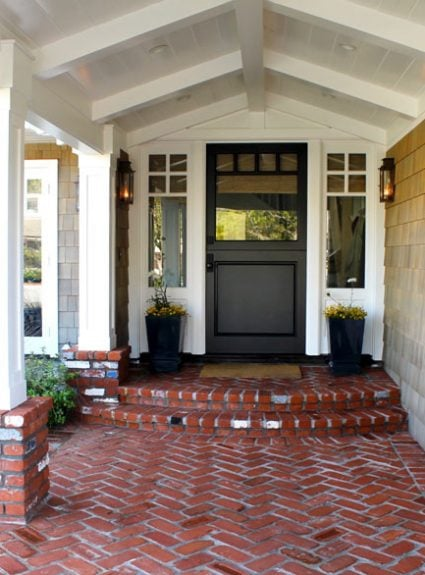 Copper Lanterns make statement at your front door