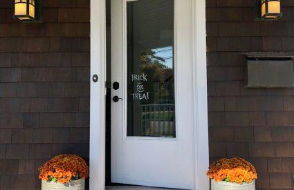 A new front door