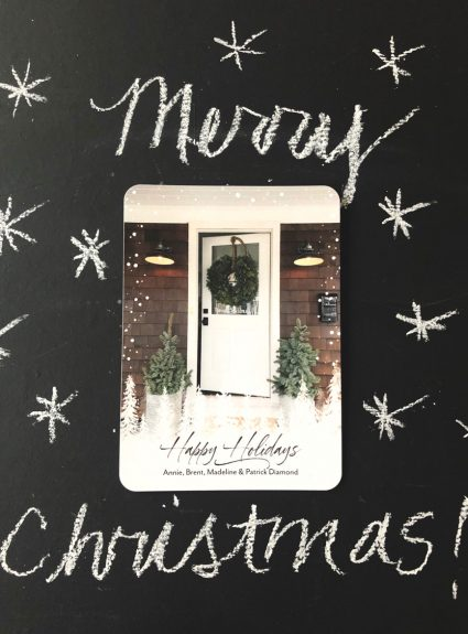 Our New Home and Christmas Cards + Shutterfly