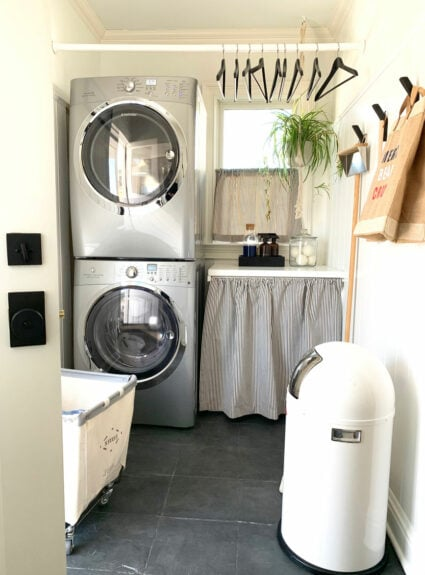 Laundry Room Makeover + Non-toxic cleaning products