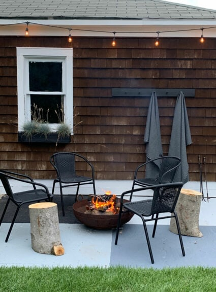 outdoor spaces – Making the most of our small yard