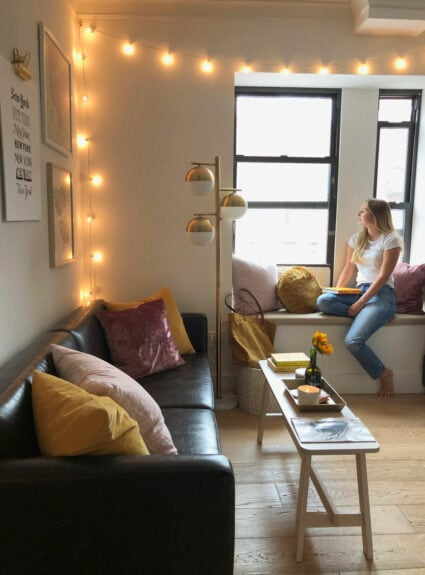 Small space living in New York City