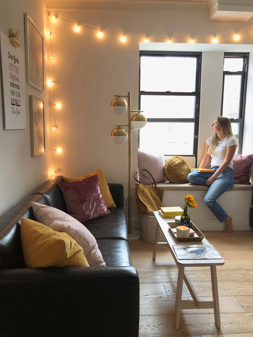 Small space living in New York City | Most Lovely Things
