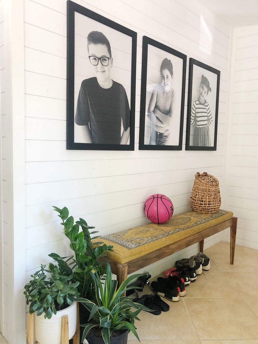 photos bench, basketball, basket, shoes