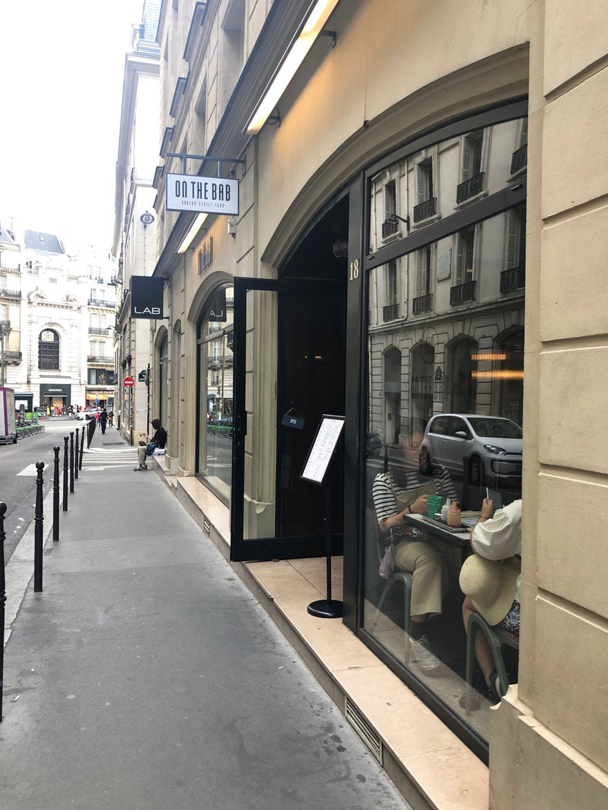 street, window, sign, paris