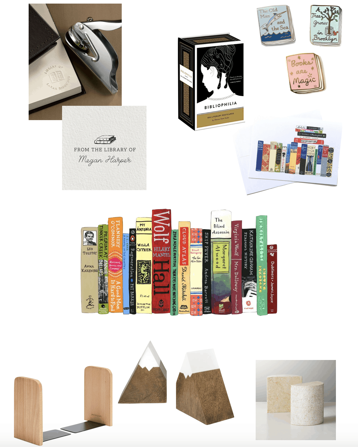 book items