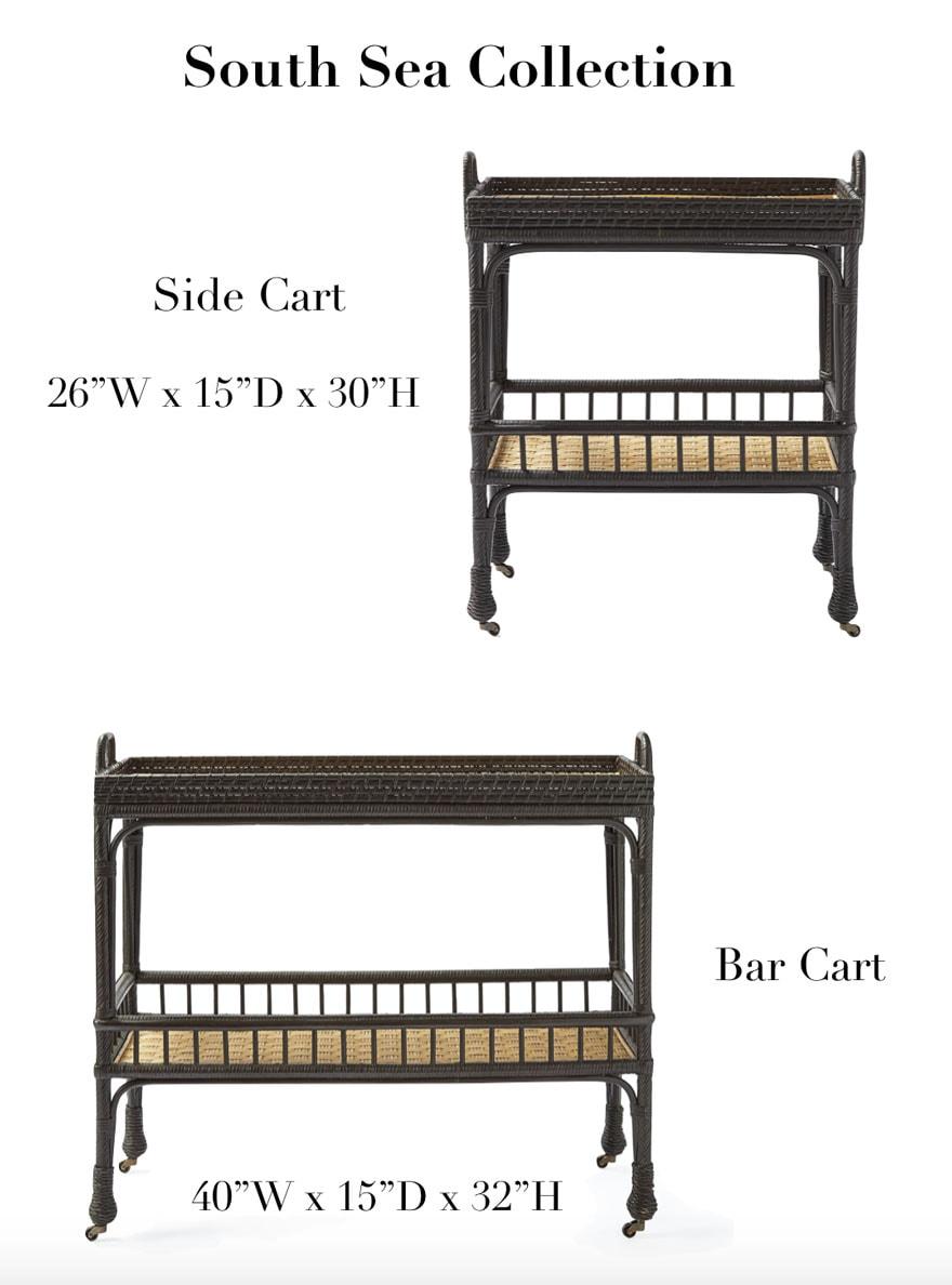 bar carts with text