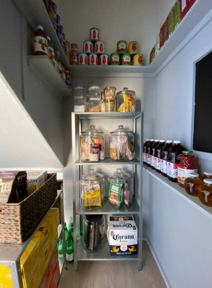 a pantry in 24 square feet for less than $100