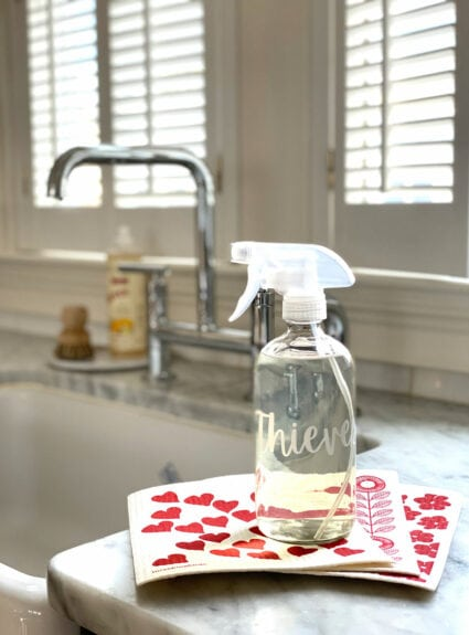 Thieves: Everyone's favorite household cleaner + A Giveaway