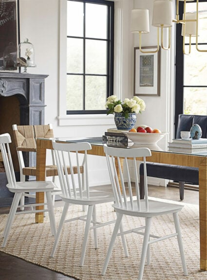 it's all about casual dining rooms and spaces