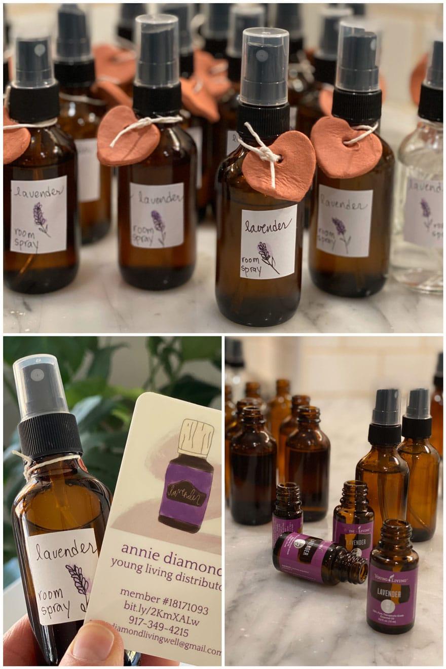 small amber bottles