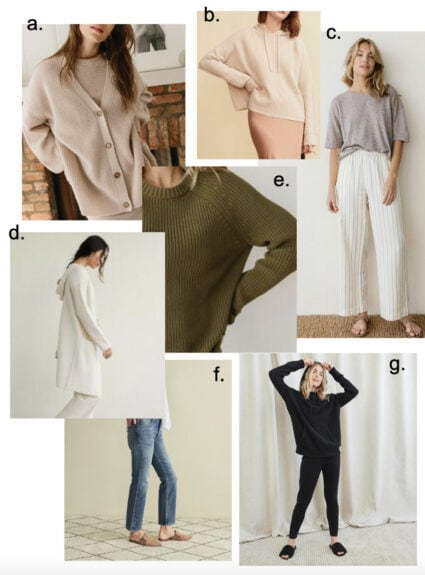What to wear when you're staying home + a super simple recipe