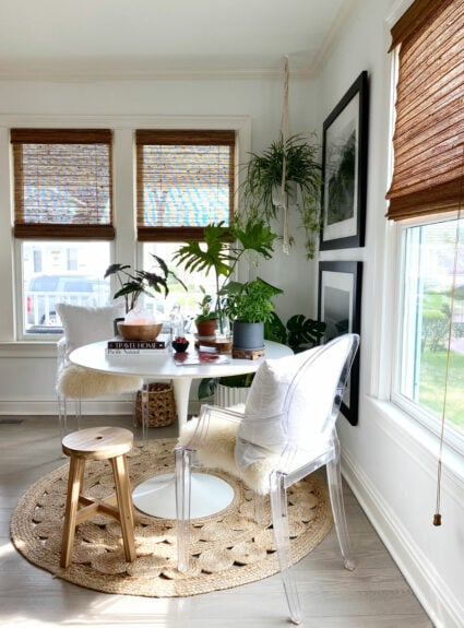A house with plants + A Giveaway