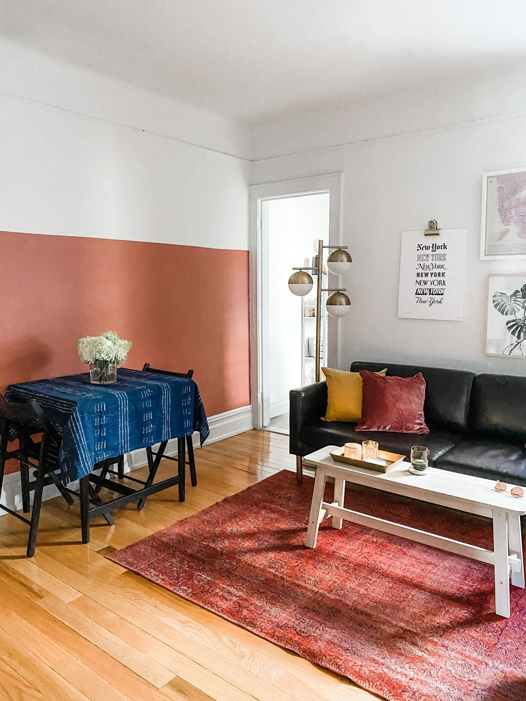 Lifestyle blogger Annie Diamond shares her daughters apartment in Brooklyn.