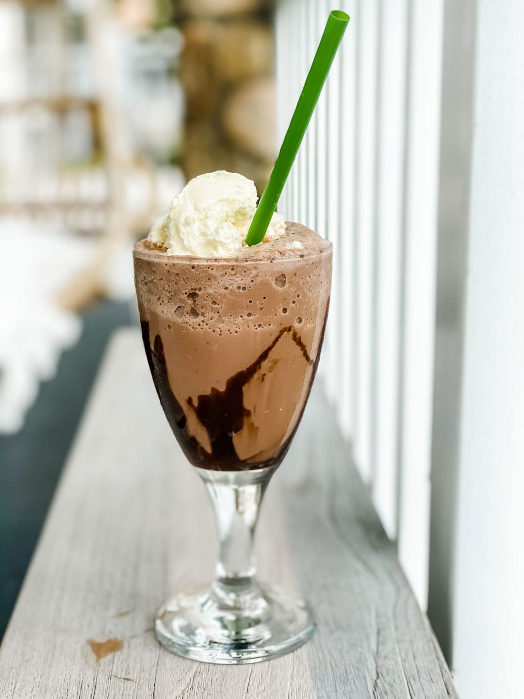 a delicious frozen hot chocolate just like at Serendipity