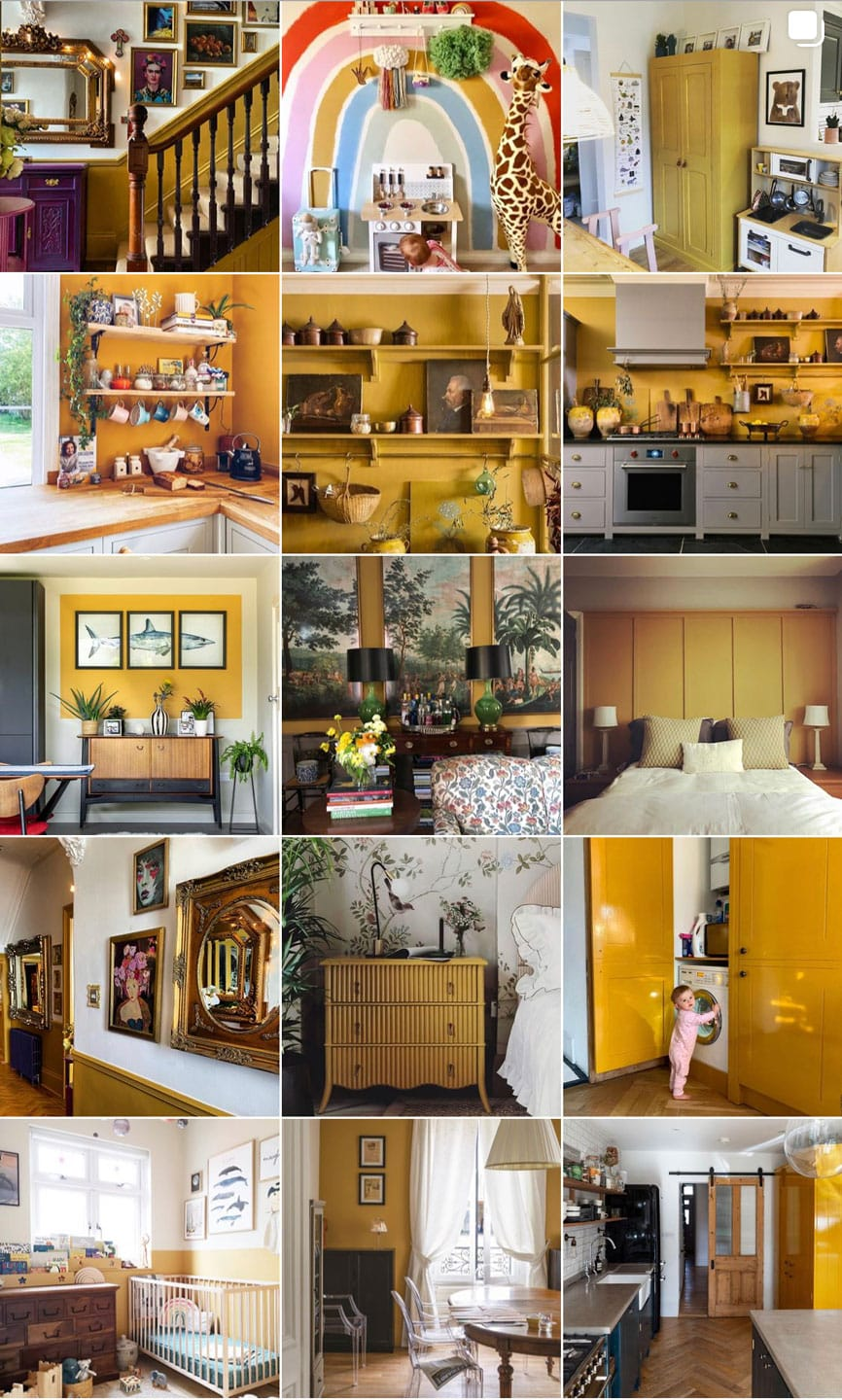 Lifestyle Blogger Annie Diamond is painting her front door India Yellow