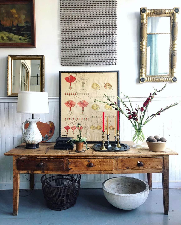 authentic interior shop, Kabinett & Kammer in Franklin, NY
