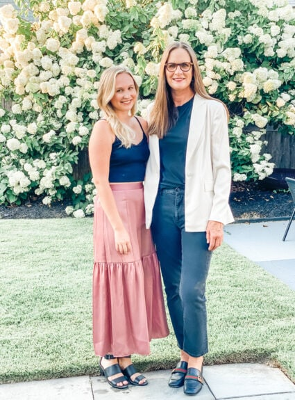 Mother Daughter Fashion with Friends