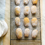 Lifestyle Blogger Annie Diamond shares her recipe for small batch pumpkin Madeleines