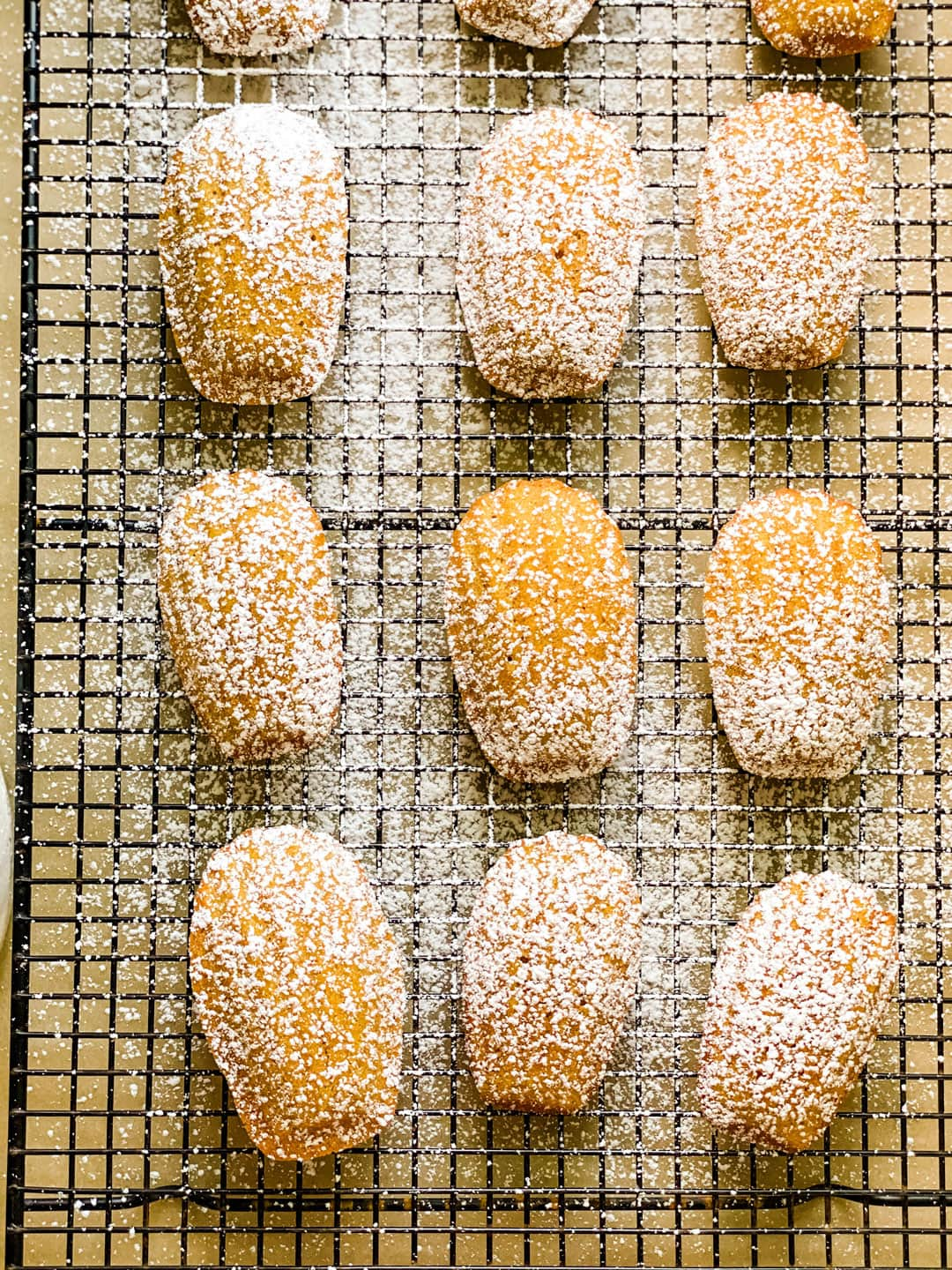 Lifestyle Blogger Annie Diamond shares her recipe for small batch pumpkin Madeleines because Madeleines are best eaten right out of the oven.