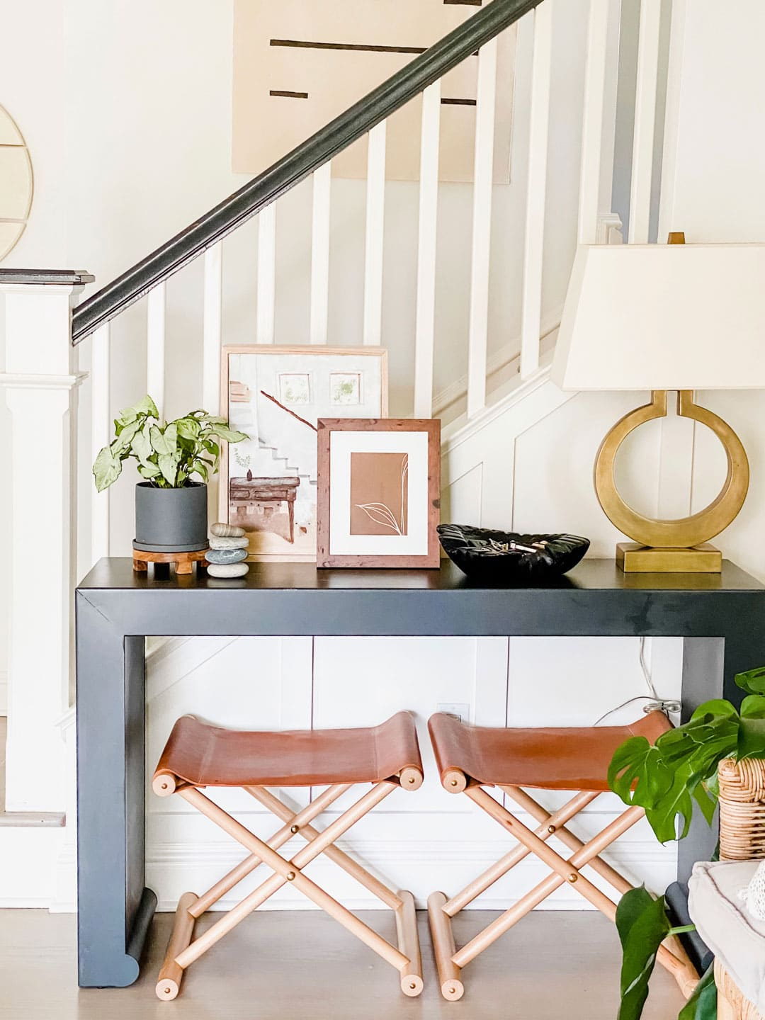 Lifestyle blogger Annie Diamond shares her ideas on how a simple console table