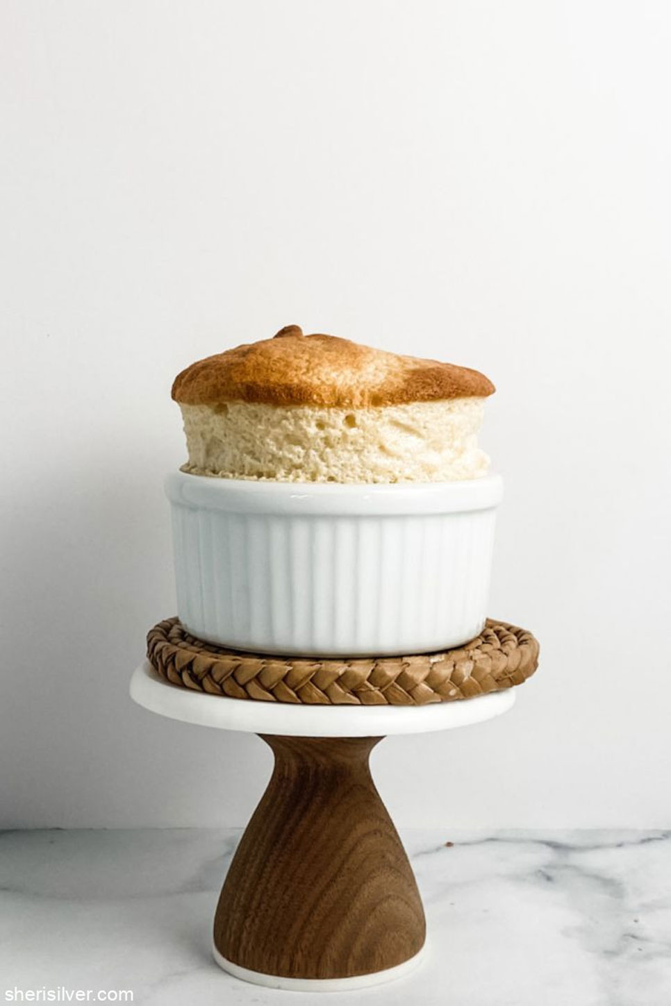 Sheri Silver shows us how to make a maple soufflé with only 2 ingredients