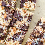 Lifestyle blogger Annie Diamond shares her recipe for sweet and salty Rice Krispie treats