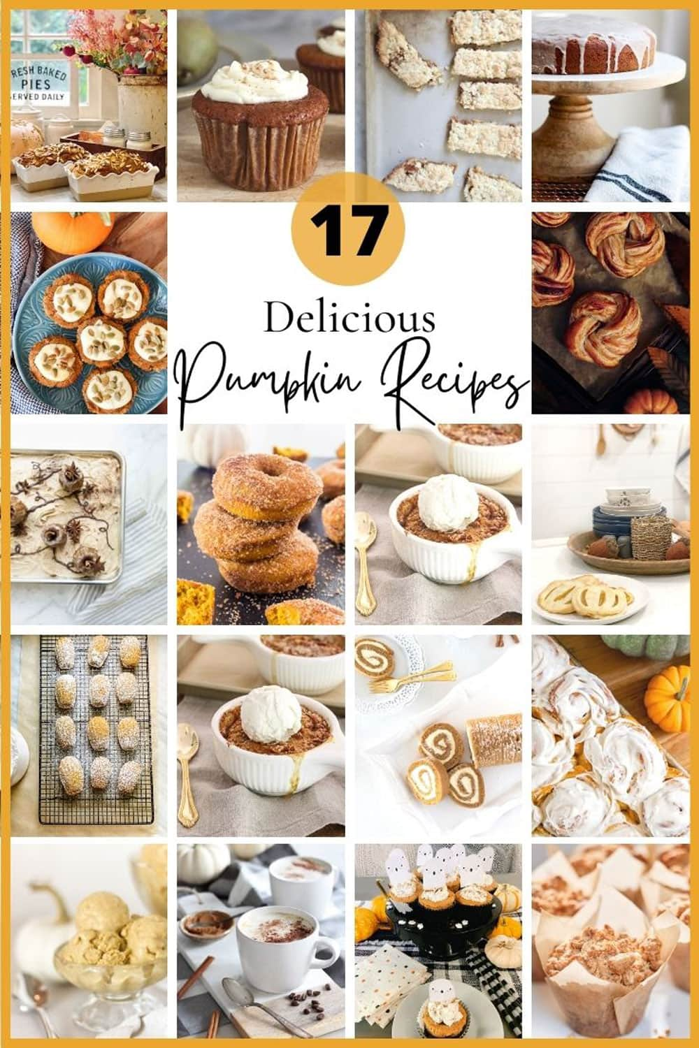 17 delicious ideas for all things pumpkin!