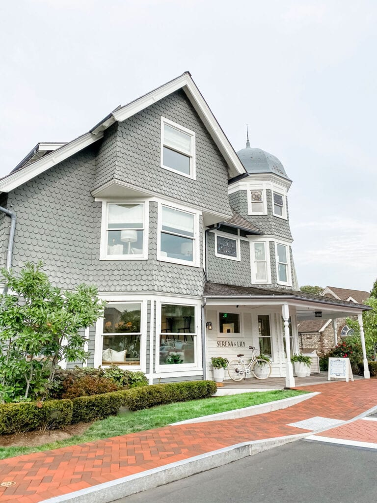 restored Victorian house that is now a store