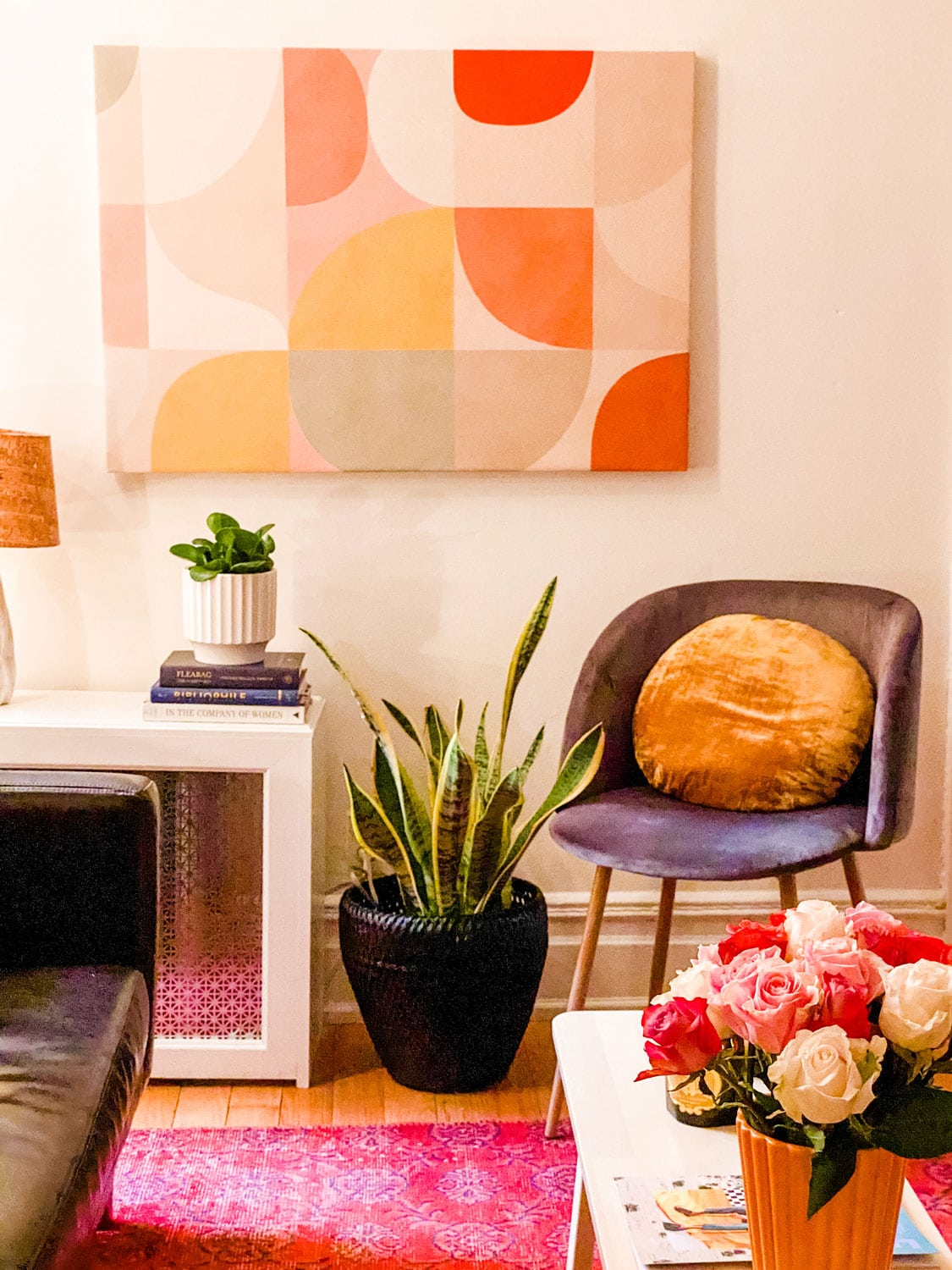 a young girls New York city bohemian apartment