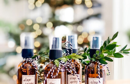 Lifestyle Blogger Annie Diamond makes her own sleep spray with a few essential oils