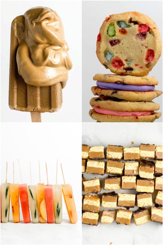 cookies, popsicles, bars