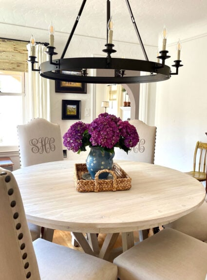 Have you seen Cindy's fabulous new dining room?