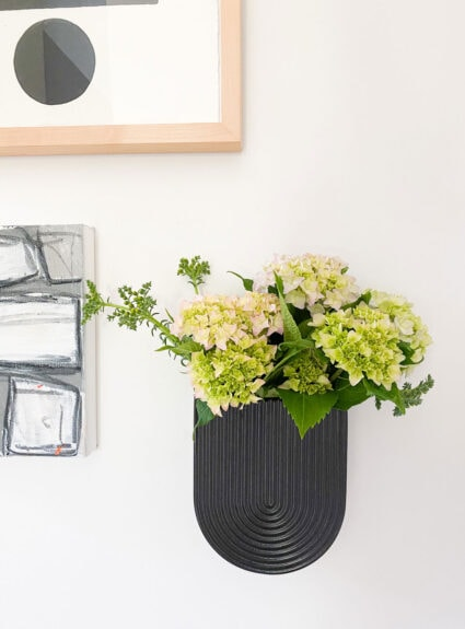 Looking for the best way to display the incredibly popular wall vase?