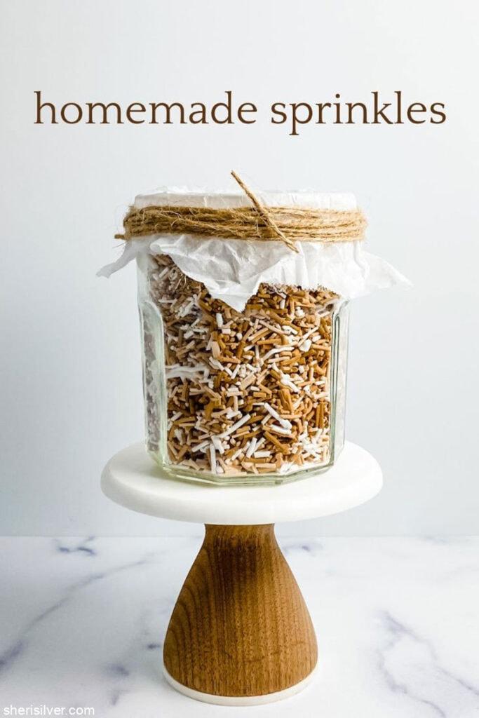 ombre homemade sprinkles