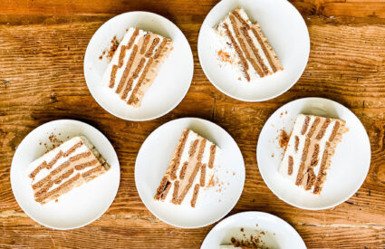 This is Sheri Silver's recipe for the most delicious icebox cake with only 4 ingredients.