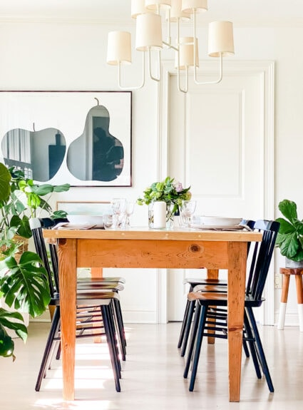 Why this simple chair is the best for any style table