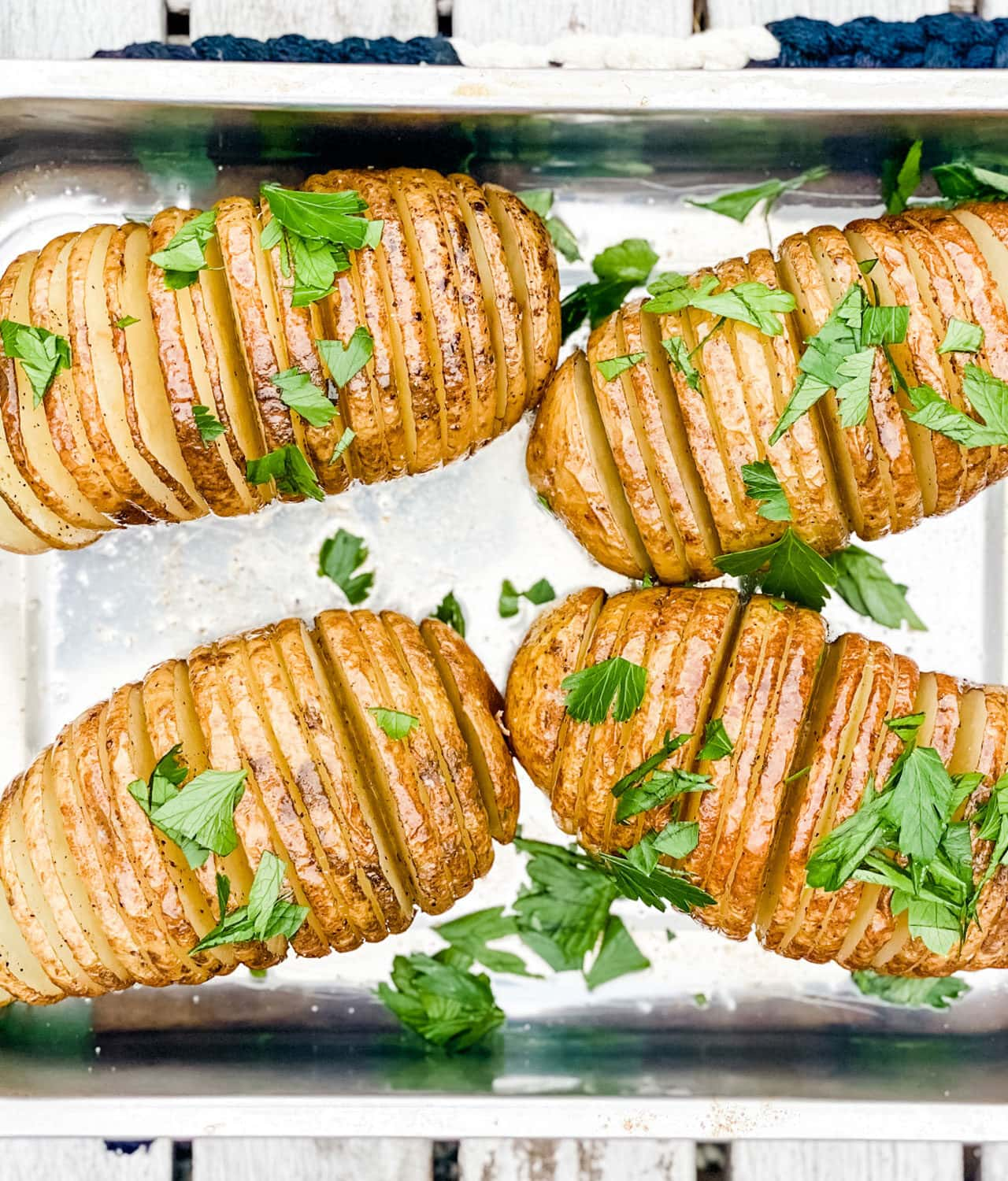 Here's a trick to making perfect Hasselback potatoes