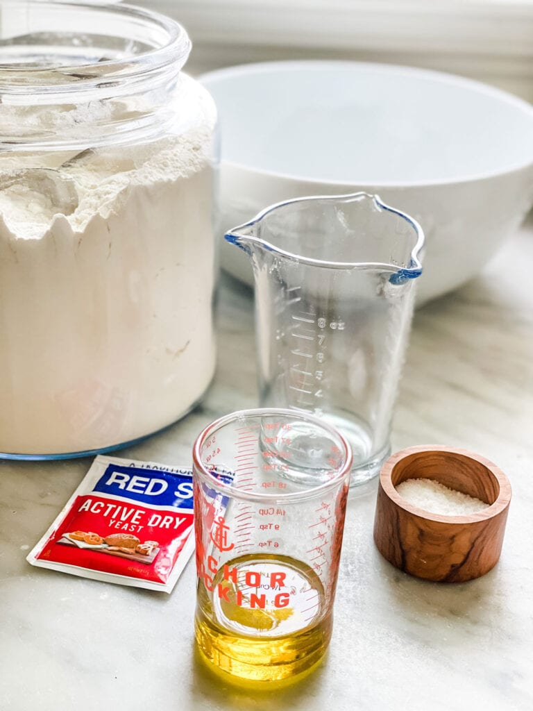 easy homemade pizza dough ingredients