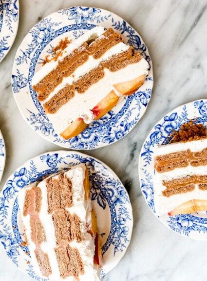 An icebox cake is the best make-ahead dessert!
