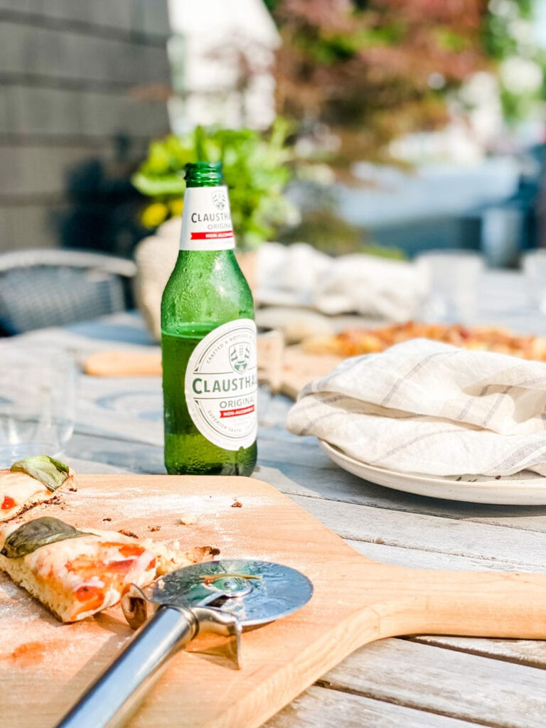 Make simple pizzas on the grill for easy entertaining